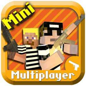 Cops N Robbers Mine game – Minecraft Style Pixel Shooter 0.9 скачать возьми андроид